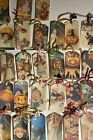 69 Vintage Inspired Halloween Handmade Hang Gift Tags Scrapbooks Party Crafts