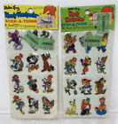 Vintage 1978 Imperial Woody Woodpecker Stick A Toons Puffy Stickers Lot Of 2 NOS