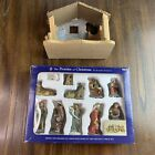 Robert Stanley 11 Piece Holiday Nativity Set 3 Deluxe Promise of Christmas