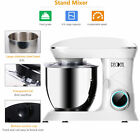 Decdeal Counter Stand Mixer 68QT 660W 6 Speed Kitchen Electric Egg Whisk White