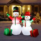 5ft Christmas Inflatable Snowmen Outdoor Holiday Yard Xmas Decorations Blow Up