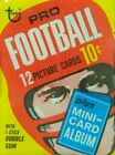 1969 Topps Football Cards - Pick The Cards to Complete Your Set