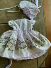 Daisy Kingdom Doll Dresses Lot of 3 Excellent Condition on hangers