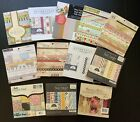 NEW Lot Of 12 6x6 PAPER PADS 350+ Sheets Christmas Scrapbooking Retired