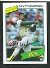 Rickey Henderson Cards, Rookie Card and Autographed Memorabilia Guide 15