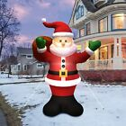 Giant Inflatable Santa Claus Carry Gift Bag Christmas Decor LED Light BlowUp 6ft