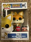 Funko Pop Games Sonic The Hedgehog Tails (Flocked) #641 Target Con Exclusive NEW