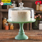 THE PIONEER WOMAN TIMELESS BEAUTY 10 CAKE STAND DOME JADITE GREEN