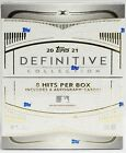 2021 Topps Definitive Collection Hobby Box NEW and FACTORY SEALED!
