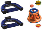 Pool Chair Float2 Pack with Swimline Shootball Inflatable Pool Toy