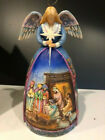 Jim Shore  A Star Shall Guide Us  Angel Nativity Gown Figurine Heartwood Creek
