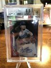 2020 Topps Chrome Rookie Autographs Red Wave Refractor Dustin May RC # 5 Dodgers