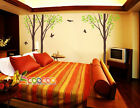 Wall Decor Decal Sticker Removable vinyl large tree 96 3 trees