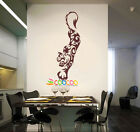 Wall Decor Decal Sticker Removable Vinyl tiger 0087