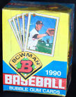 1990 Bowman Baseball sealed Box MLB