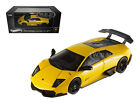 LAMBORGHINI MURCIELAGO LP 670 4 SV YELLOW ELITE 1 43 MODEL CAR HOTWHEELS T6934