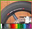 Aprilia RSV 1000 Factory R Wheel Rim Decals Stickers - mille milleR rsv1000