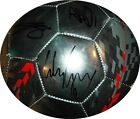 Manchester United Team Signed Autographed Nike Chrome Soccer Ball Rooney MAN U