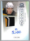 09-10 The Cup Brad Marchand Auto Sweet Jersey Patch Rookie Card RC #115 178 249