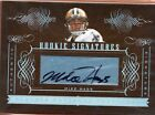 2006 National Treasures Rookie Auto - MIKE HASS #174 - Saints RC /200 BV$15