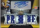 2009 RAMSES BARDEN RC AUTO PRIME JERSEY 25 30 TOPPS TRIPLE THREADS #130