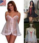 PLUS SIZE BLACK RED WHITE PINK WHITE RED LINGERIE BABYDOLL PANTY 1X 2X 3X