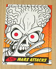 2012 Topps Heritage MARS ATTACKS sketch Chad McCown 1 1 card color
