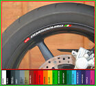 8 x Aprilia Dorsoduro Wheel Rim Decals Stickers - 750 smv 1200 moto motorcycle