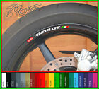 8 x Aprilia Mana GT Wheel Rim Decals Stickers - 850 gt gts abs
