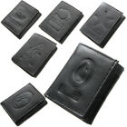 Brand New NFL Team Black Tri Fold Leather Wallet Assorted Teams