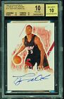 BGS 10 DWYANE WADE 2003-04 UPPER DECK ULTIMATE COLLECTION AUTO RC 250 *PRISTINE
