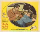 THE COWBOY AND THE LADY LOBBY CARD size MOVIE POSTER R1944 GARY COOPER Card #2