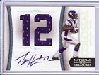 2011 NATIONAL TREASURES PERCY HARVIN COLOSSAL AUTO JERSEY 1 5!!