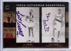 2007-08 TOPPS LETTERMAN BILL RUSSELL GREG ODEN DUAL AUTO 1 1!!