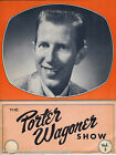 PORTER WAGONER SHOW VINTAGE COUNTRY MUSIC SINGER PHOTO LYRIC PHOTO BOOKLET