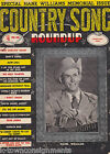 HANK WILLIAMS STORY VINTAGE COUNTRY SONG ROUNDUP MUSIC PHOTO MAGAZINE 1953