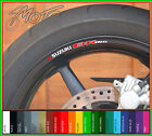 8 x SUZUKI B-KING Wheel Rim Stickers Decals - Colour Choice - bking B King