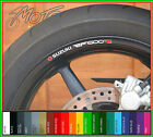 8 x SUZUKI RF600R Wheel Rim Stickers Decals - rf 600 r