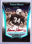 2006 PRESS PASS LEGENDS FRANCO HARRIS RED AUTO 17 25!!