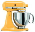 KitchenAid Stand Mixer 5-Qt rrk150bf Refurb ksm150psbf Artisan Yellow Buttercup