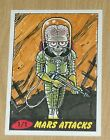 2012 Topps Heritage MARS ATTACKS sketch card Jacob Chabot 1 1 COLOR