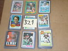 1973 74 75 76 1978 && MORE TOPPS football 138 card lot