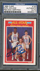 1989 90 Fleer #163 Karl Malone PSA DNA Certified Authentic Auto Autograph *0017
