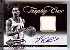 2011-12 LIMITED TROPHY CASE DERRICK ROSE AUTO JERSEY 15 25
