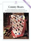 Country Hearts Quilt  Hostess Apron Best Loved Quilt sewing pattern templates