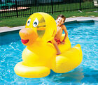 Swimline 9062 Inflatable Toddlers  Children Giant Duck Swimming Pool Float