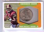 2012 TOPPS MAGIC GRIDIRON COINS ROBERT GRIFFIN III RC 10 10!! RG3 JERSEY NUMBER