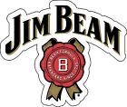 JIM BEAM Sticker Decal DIFFERENT SIZES Whiskey Bourbon Alcohol Bar Wall Vinyl
