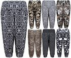 Womens Animal Aztec Printed Ladies Shorts Cropped Harem Trousers Pants Plus Size