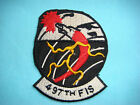 VIETNAM WAR PATCH, US 497th FIGHTER INTERCEPTOR SQUADRON